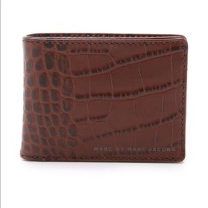 Marc By Marc Jacobs Embossy Croc Martin Wallet